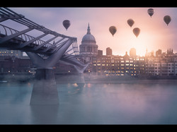 Balloons Over St Pauls