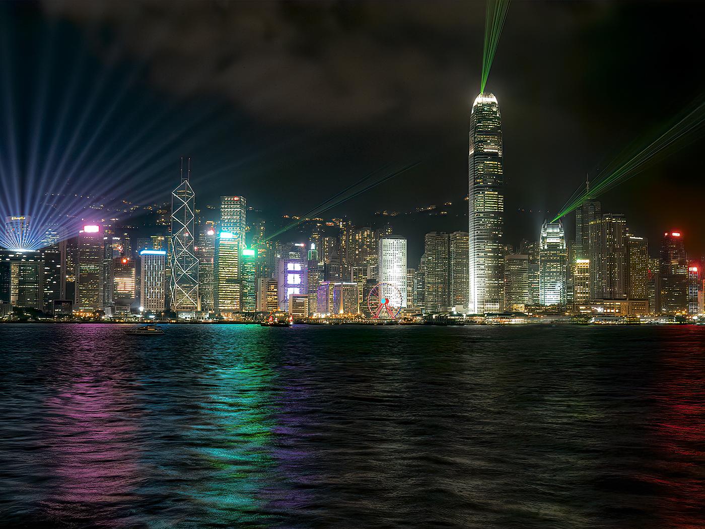 Harbour Lightshow