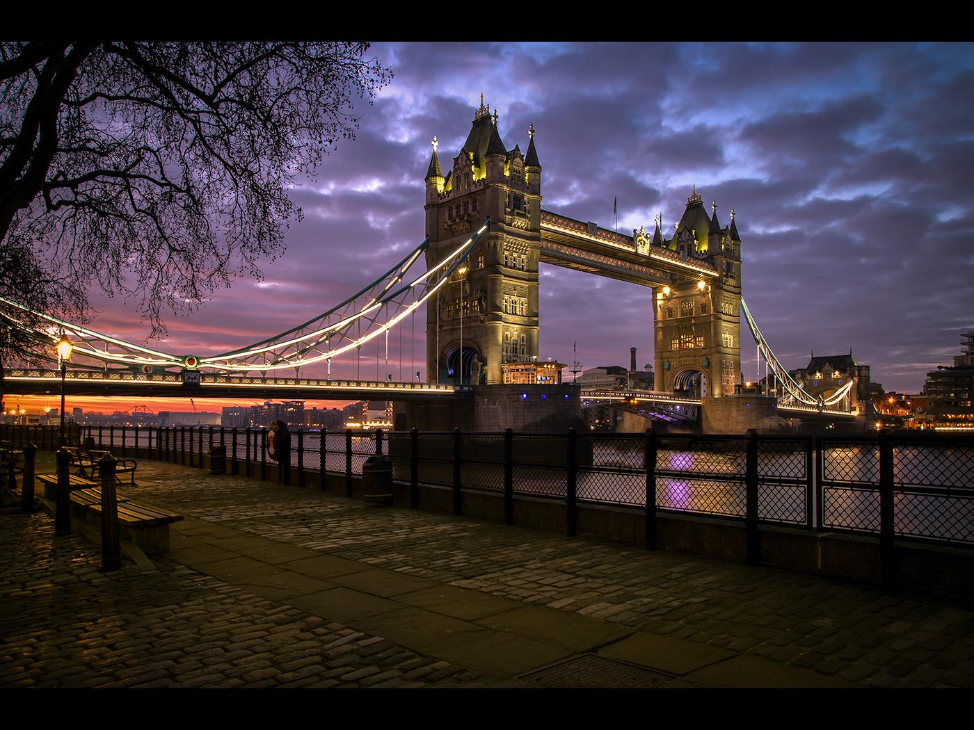 Sunrise Over Tower Bridge