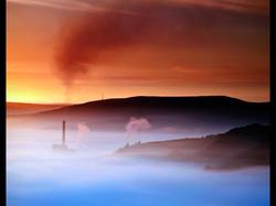 Mist in the valley HC)