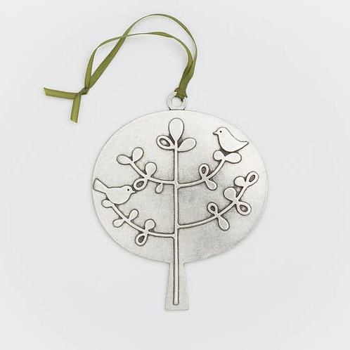 Birds in Tree Ornament