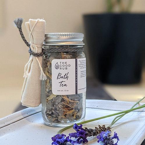 Herbal Bath Tea Magnesium + Sage 3oz