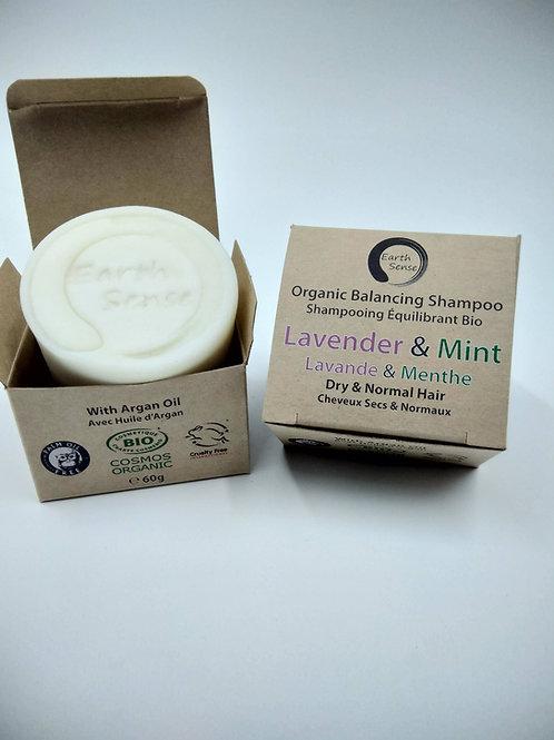 Organic Solid Shampoo - Lavender & Mint