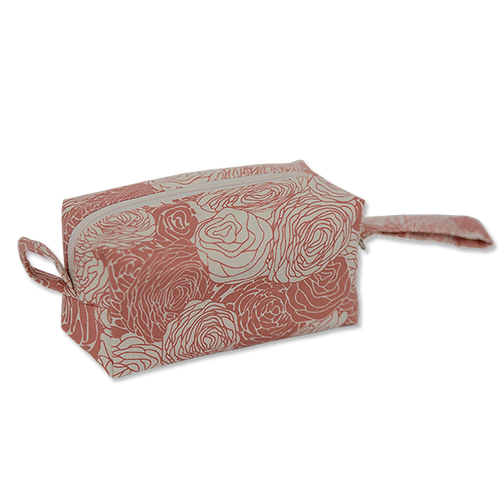 Blush & Purple Haze Cosmetic Cases Small Spring Flowers