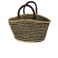 Seagrass Oval Bag
