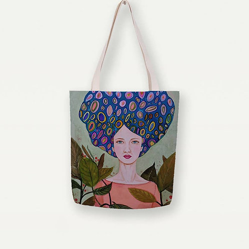 Claire Canvas Tote Bag