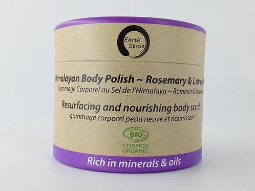 Organic Body Polish Exfoliant - Lavender & Rosemary
