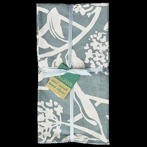 Grey & Neutral, Print & Solid Cotton Napkins, Set of 4