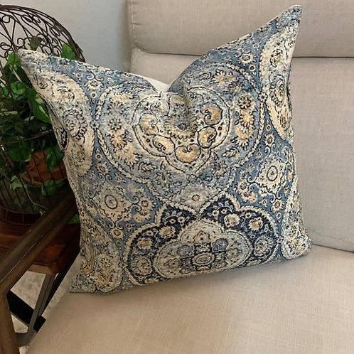 Jida Indigo Accent Pillow