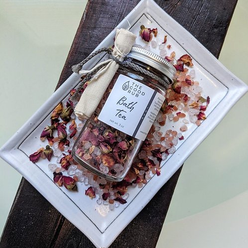 Herbal Bath Tea Rose 3oz