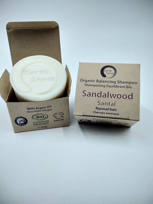 Organic solid Shampoo - Sandalwood