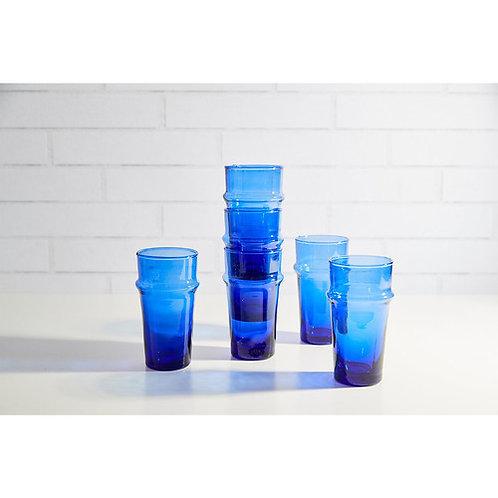 Moroccan Beldi Glassware Set of 6