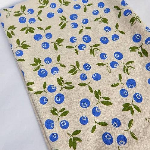 Blueberry Kitchen Towel, Tea Towel