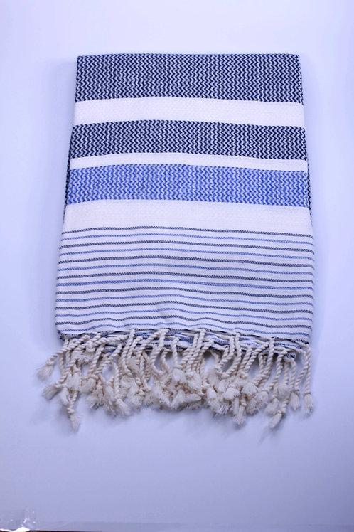 Seawave Beach Towel Navy