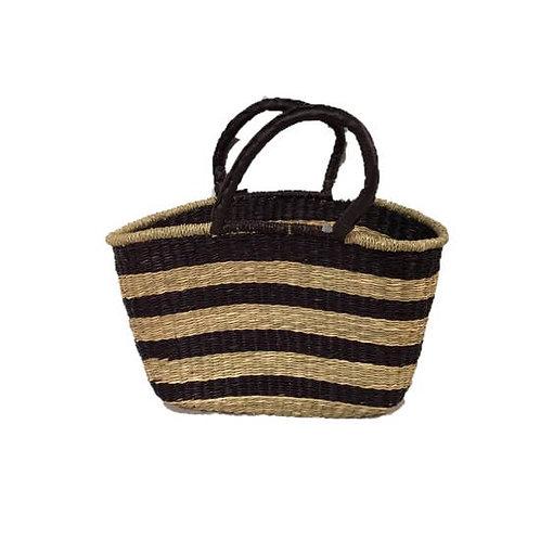 Seagrass Oval Bag, E