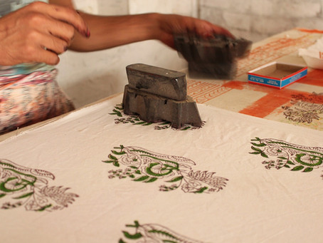 The Beauty of Block Printed Textiles