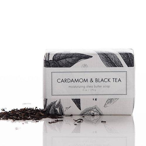Cardamom & Black Tea Shea Butter Soap Bar