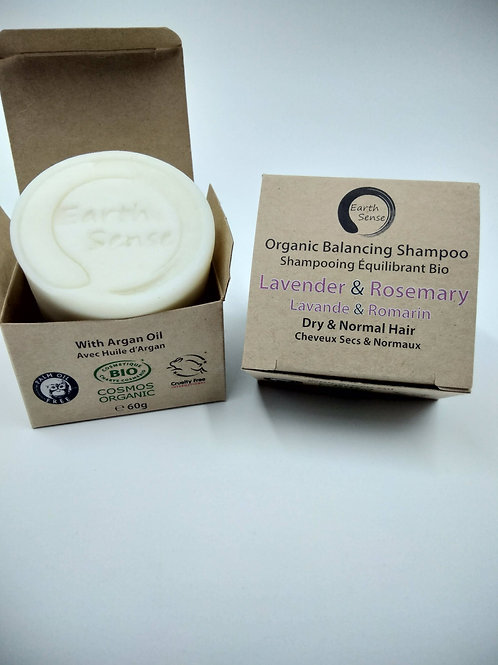 Organic Solid Shampoo - Lavender & Rosemary