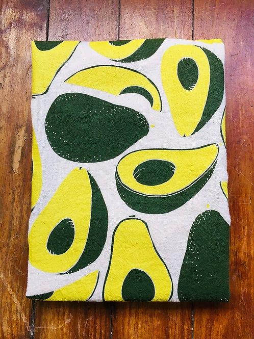 Avocado Tea Towel Hunter Green/Avocado