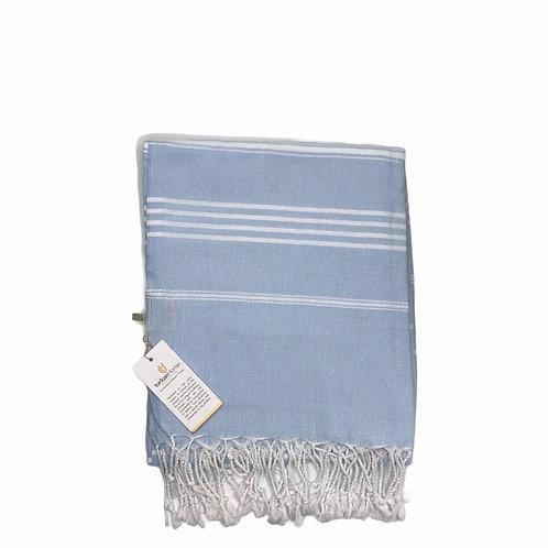 Anchor Turkish Beach Towel Baby Blue