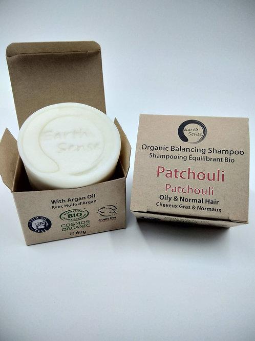 Organic Solid Shampoo - Patchouli