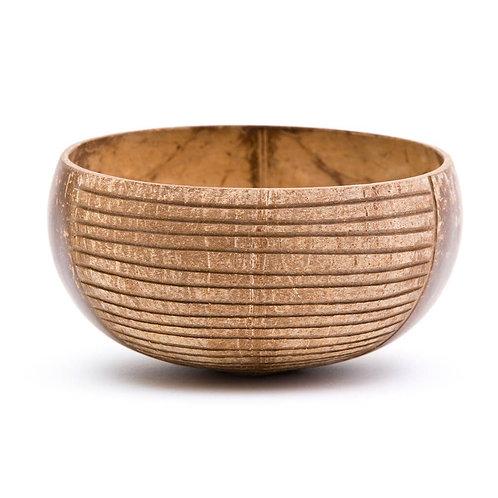 Stripes Coconut Bowl