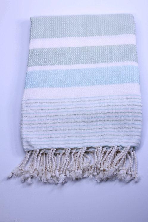 Seawave Beach Towel Soft Green