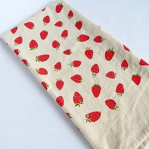 Strawberry Kitchen Towel, Tea Towel