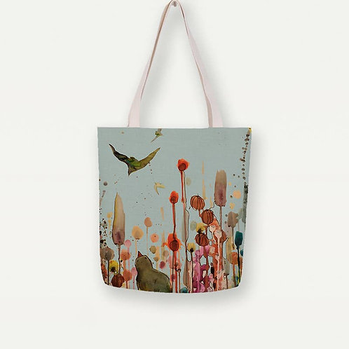 Learning to Fly Canvas Tote Bag