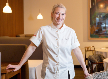 Meet Emma Bengtsson, Executive Chef at Aquavit** in New York City