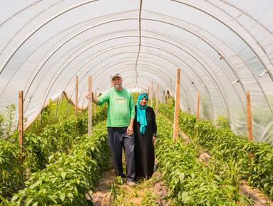 Zaid and Haifa Kurdieh