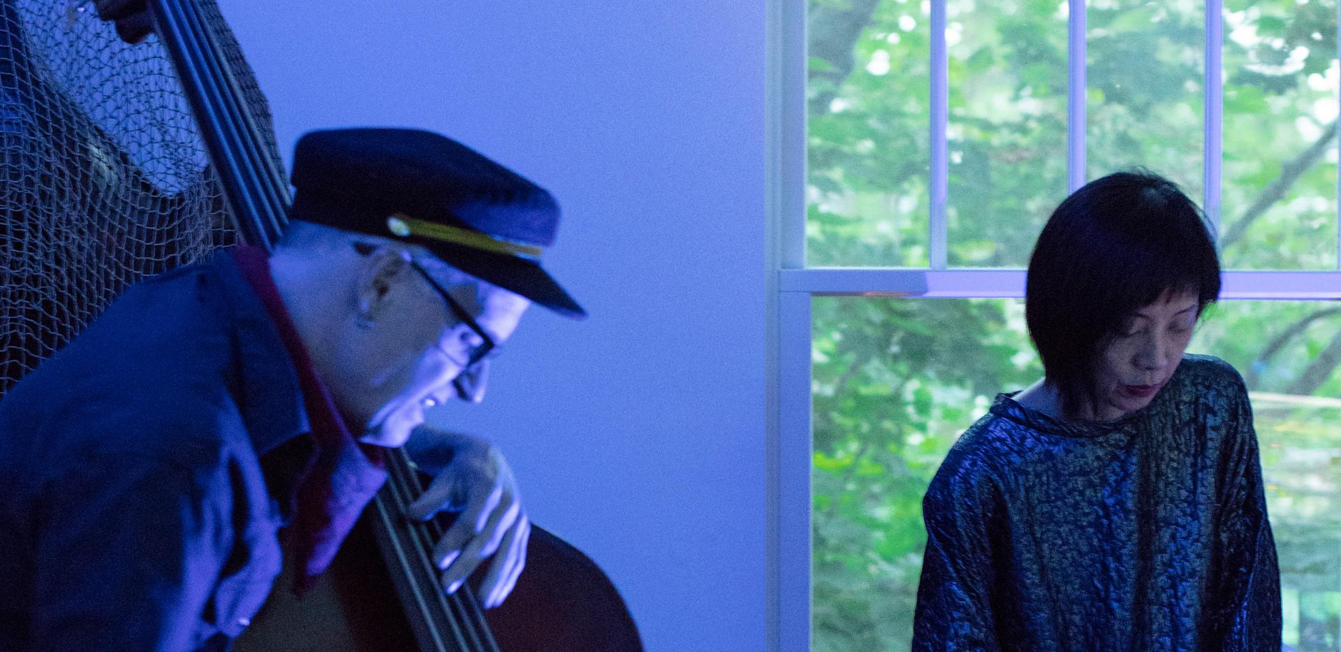 Dual live performance by multi instrumentalist Composer Yuka Honda & Cellist Devin Hoff