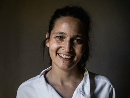 Meet Nadia Sammut, Chef Auberge La Fenière, Founder Cuisine Libre® and Kom&Sal in Lourmarin, France.
