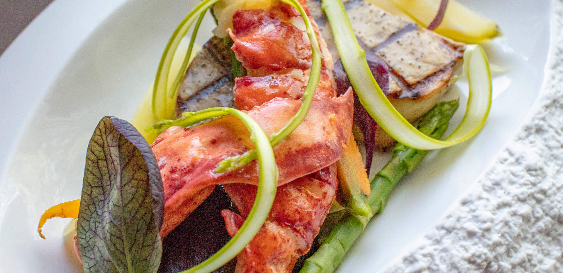 Lobster & foie gras indulgence