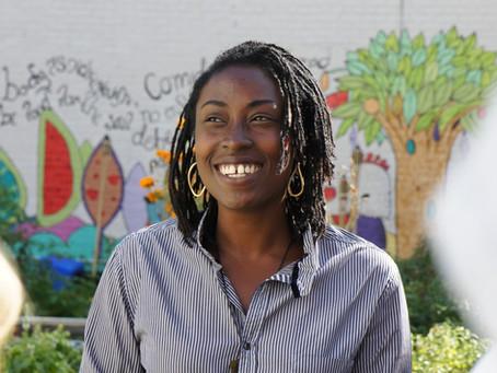 Meet Yemi Amu, Founder and Director of Oko Farms in Brooklyn, New York.