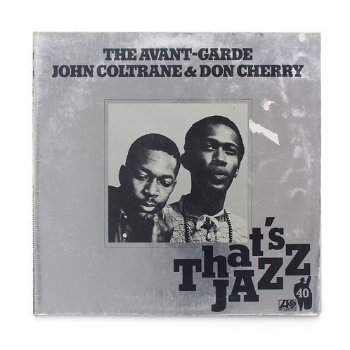 John Coltrane & Don Cherry ‎| The Avant-Garde Vg/Nm