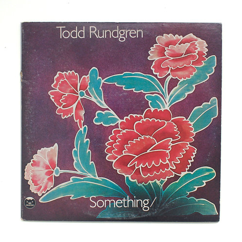 Todd Rundgren ‎| Something / Anything? | OG w/ poster | Used Lp