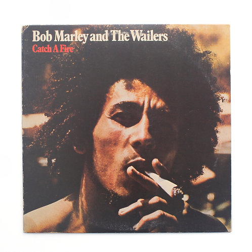 Bob Marley & The Wailers|Catch A Fire | 1973 | Used Lp