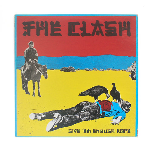 Clash (The)  ‎| Give 'Em Enough Rope | 1978 Epic 1st US | Used Lp