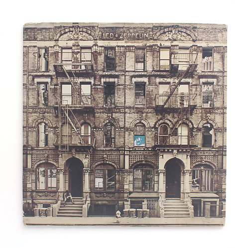 Led Zeppelin ‎| Physical Graffiti | 1975 Early Og RP | Used Lp
