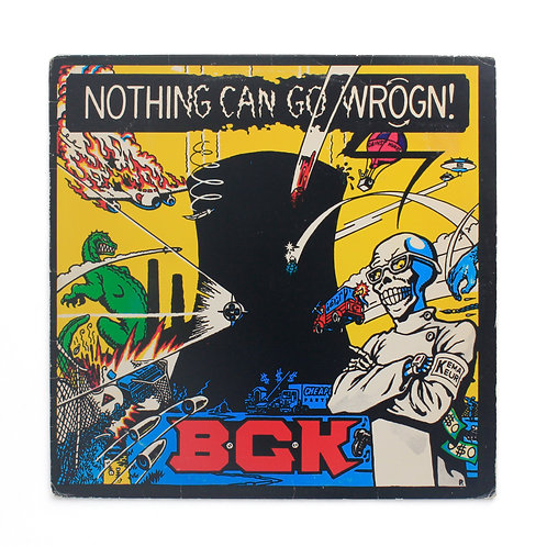 B.G.K. ‎– Nothing Can Go Wrogn! | 1986 1st US | Used Lp