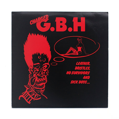 G.B.H |Leather, Bristles, No Survivors.. | 1982 | Used Lp
