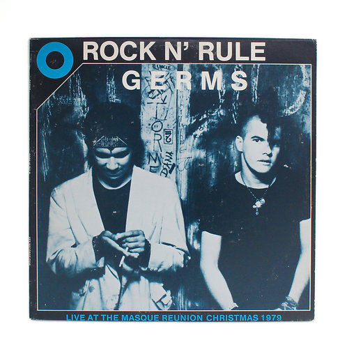 Germs ‎| Rock N' Rule | 1986 | Used Lp