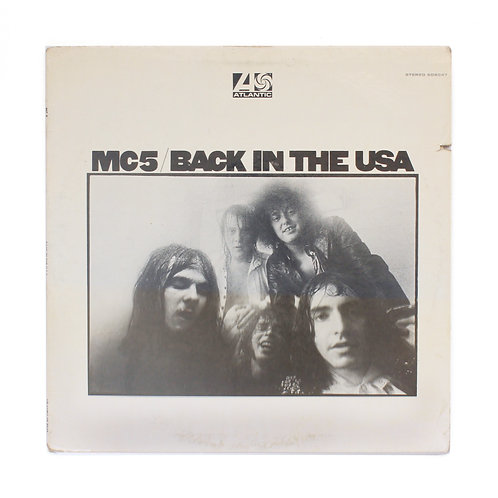 MC5 ‎| Back In The USA | 1970 1st Promo | Used Lp