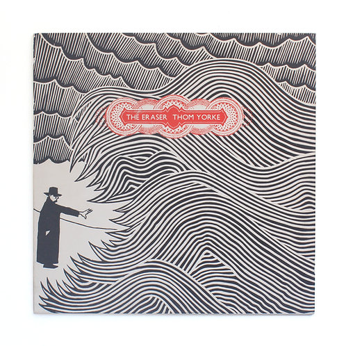 Thom Yorke ‎| The Eraser | 2006 1st | Embossed | Used Lp