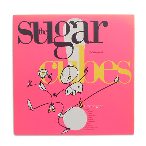 The Sugarcubes ‎| Life's Too Good | Used Lp