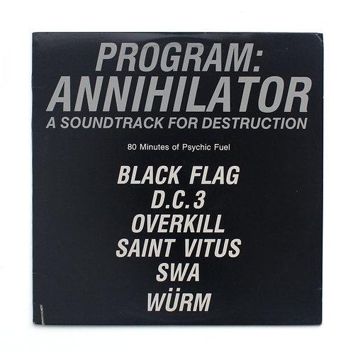Program: Annihilator | SST COMP | Black Flag | Used 2XLP