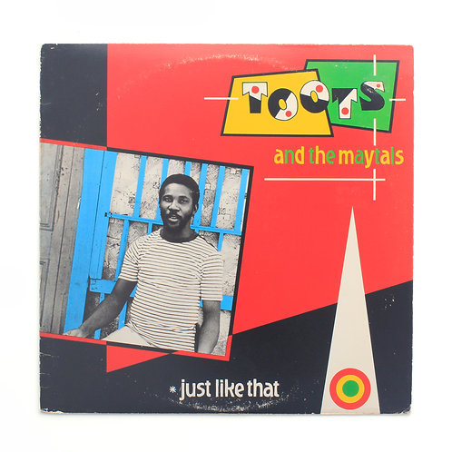 Toots & The Maytals |Just Like That | 1980 1st | Used Lp