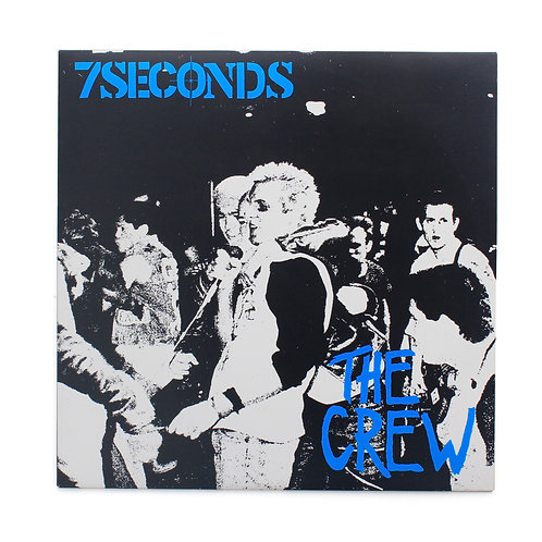 7 Seconds|The Crew | 2016 RP |Used Lp