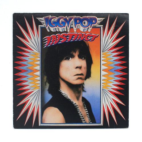 Iggy Pop|Instinct | 1988 Promo Stamped | Used Lp